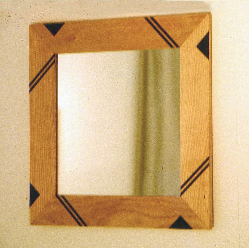 1986 Spegelram med inläggningar
