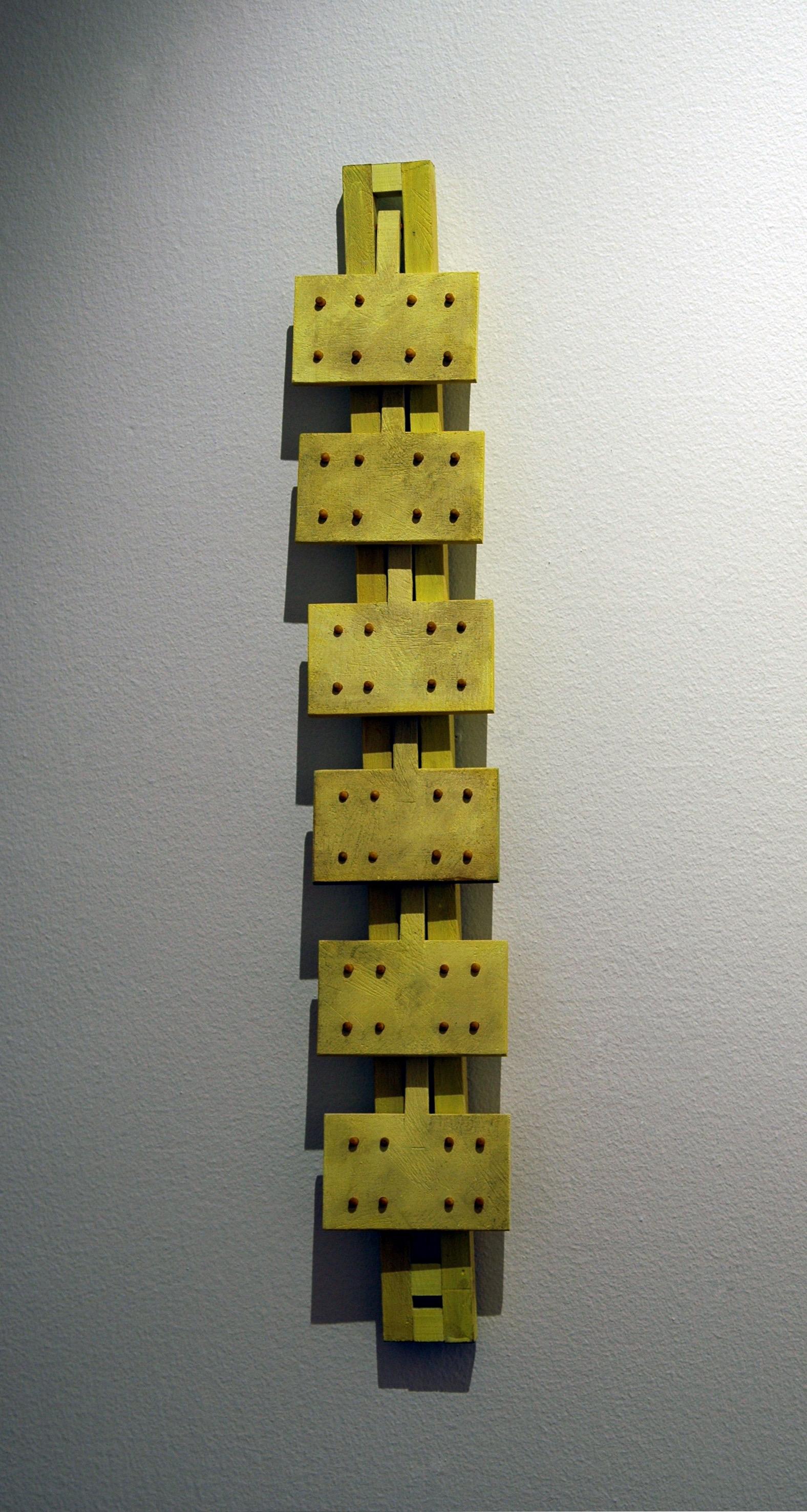 """2004 """"Kallt gul ram med rörliga delar"""""""