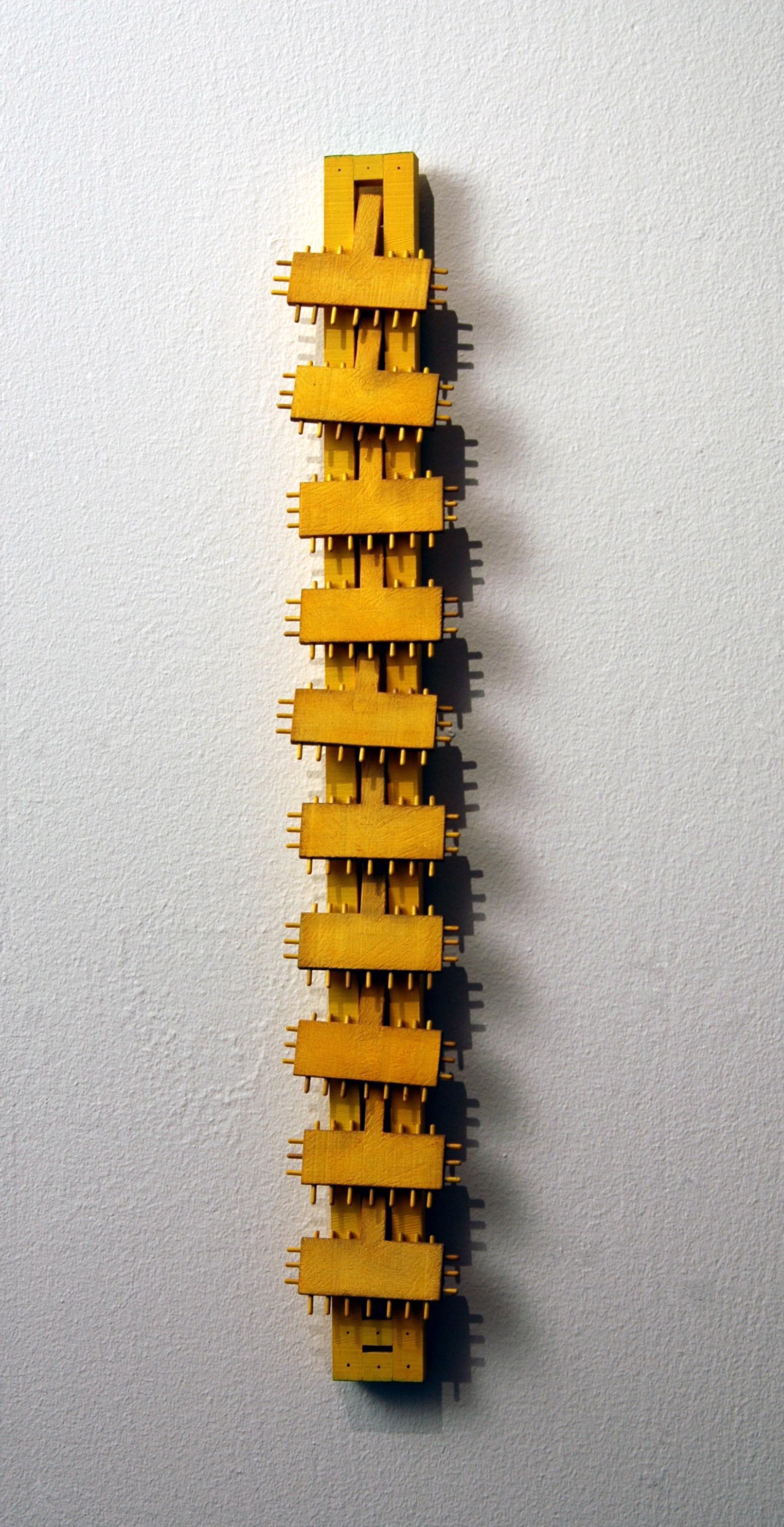 """2004 """"Varmt gul ram med rörliga delar"""""""