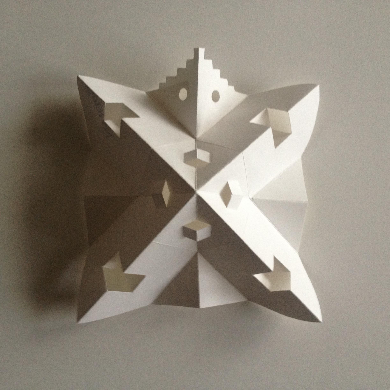 2015 Stjärna av papper
