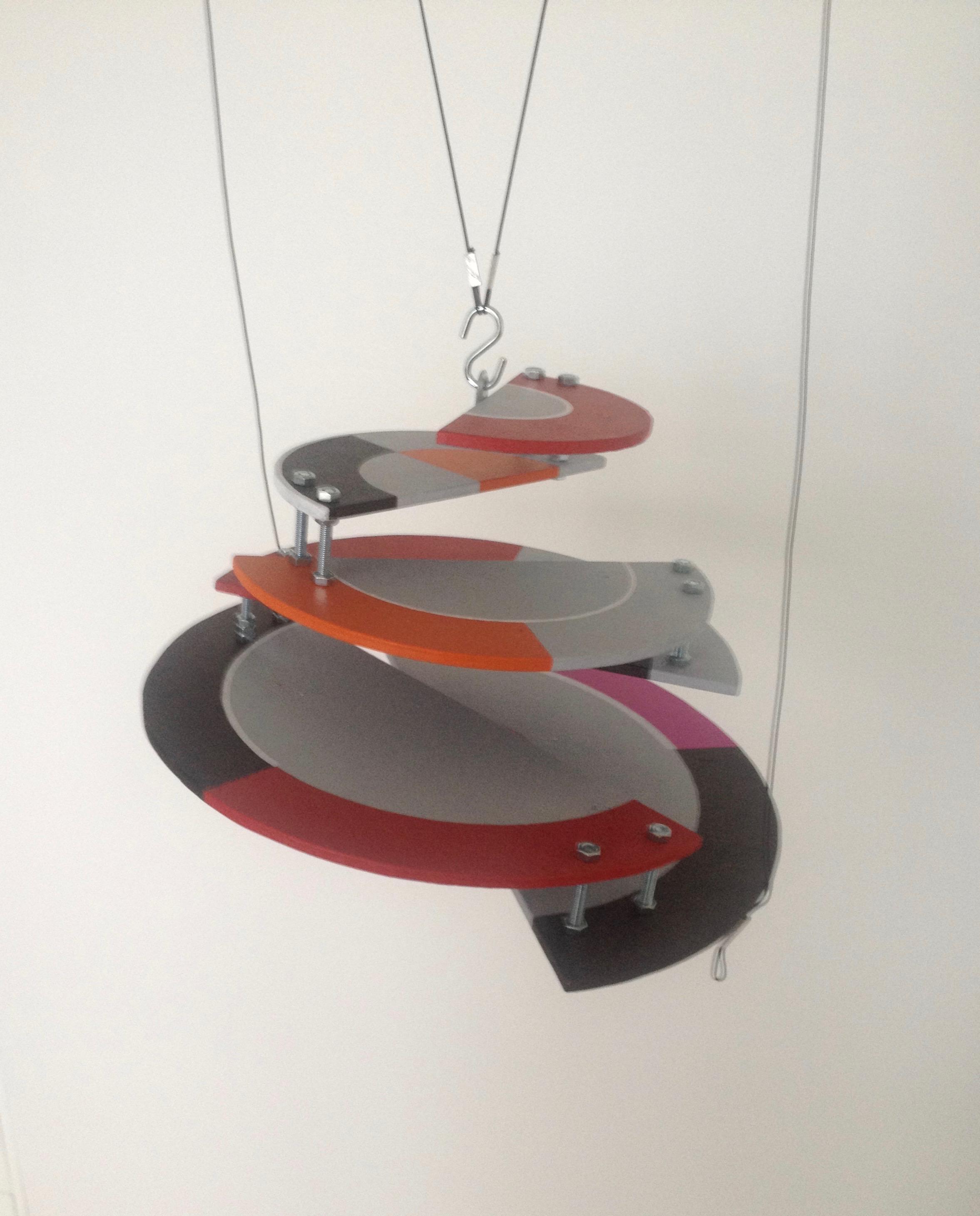 """2014 Mobil """"Konstruktivistisk gungning"""", detalj"""